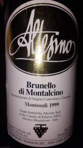 Altesino Brunello Montosoli 99