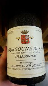 Denis Mortet Bourgogne Blanc 2001