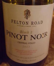 Felton Road PN 2013