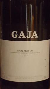 Gaja Barbaresco 2003