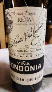 R Lopez de Heredia Tondonia 94