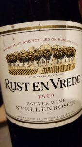 Rust en Vrede Estate Red 1999