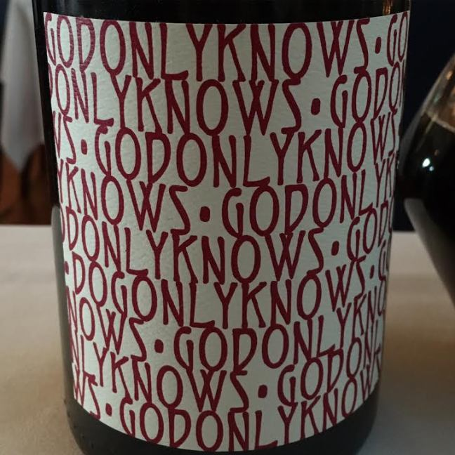 Image result for god only knows grenache